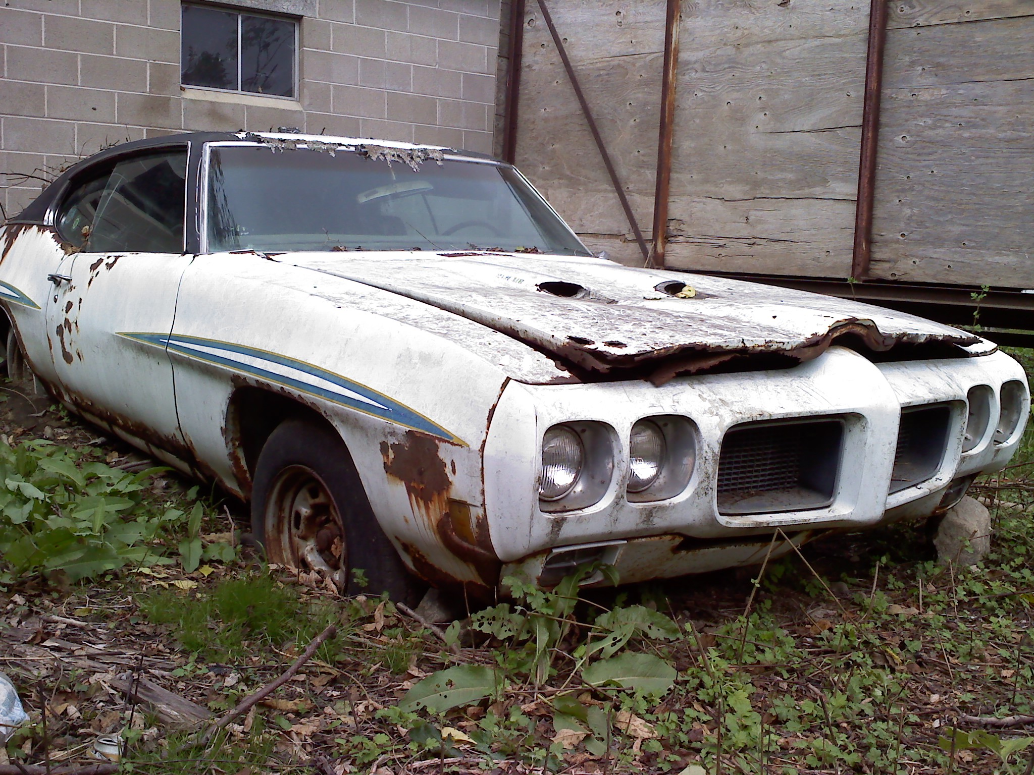 Barn find Judge - Pontiac GTO