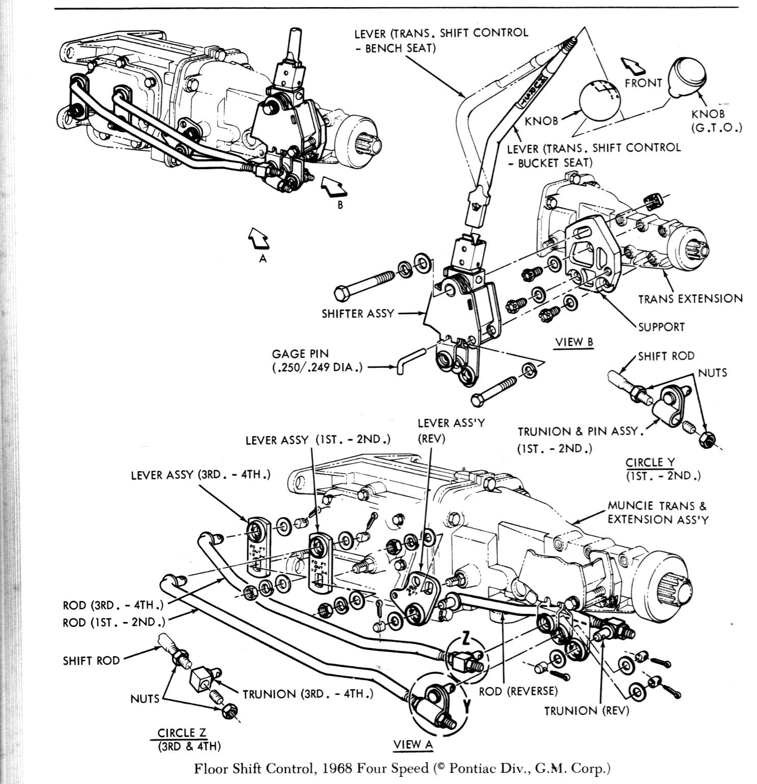 Click image for larger version Name: 1968 Pontiac Shift Linkage.JPG Views:  4281