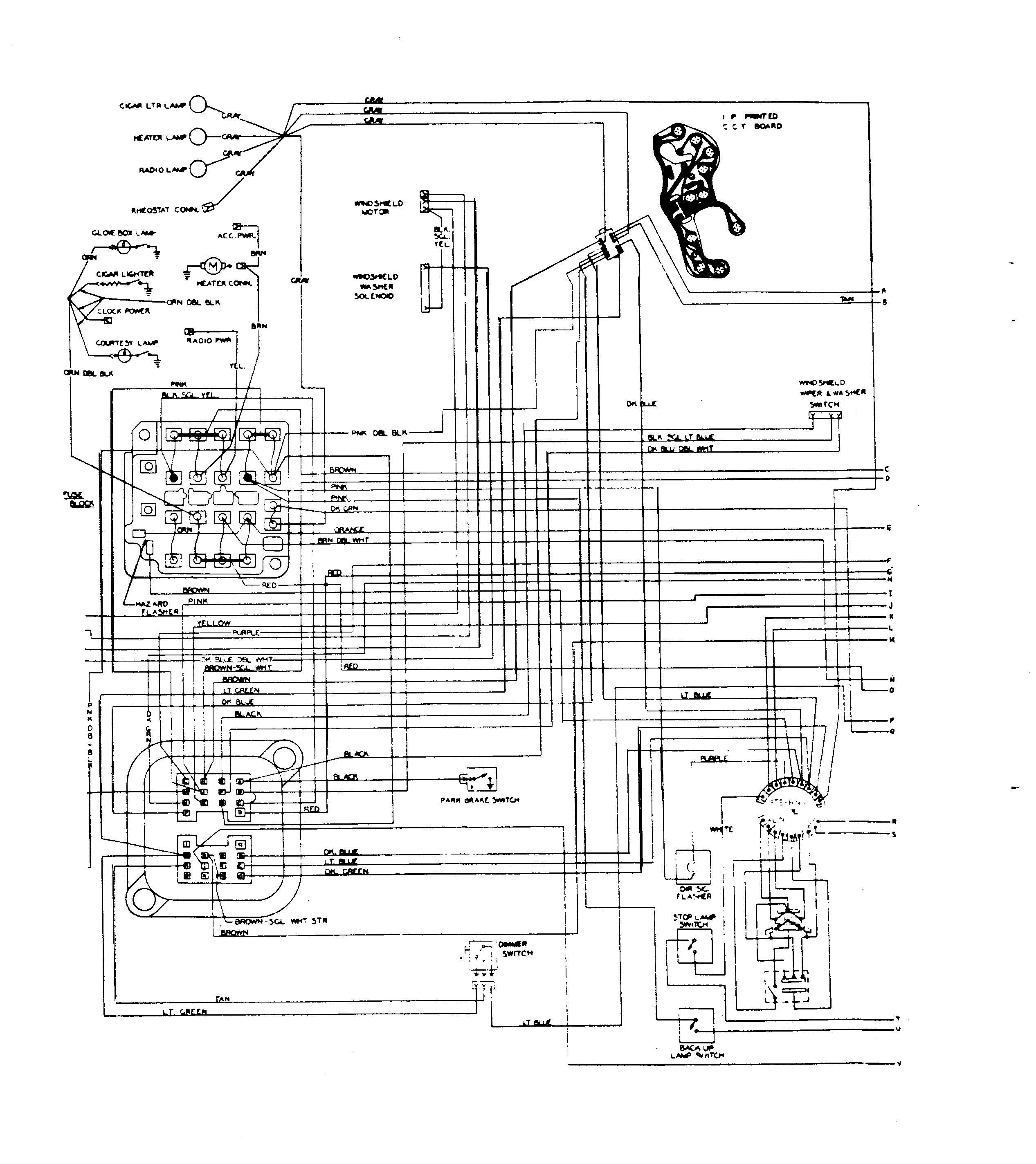 firebird headlight wiring diagram solidfonts 1980 firebird headlight switch wiring diagram automotive