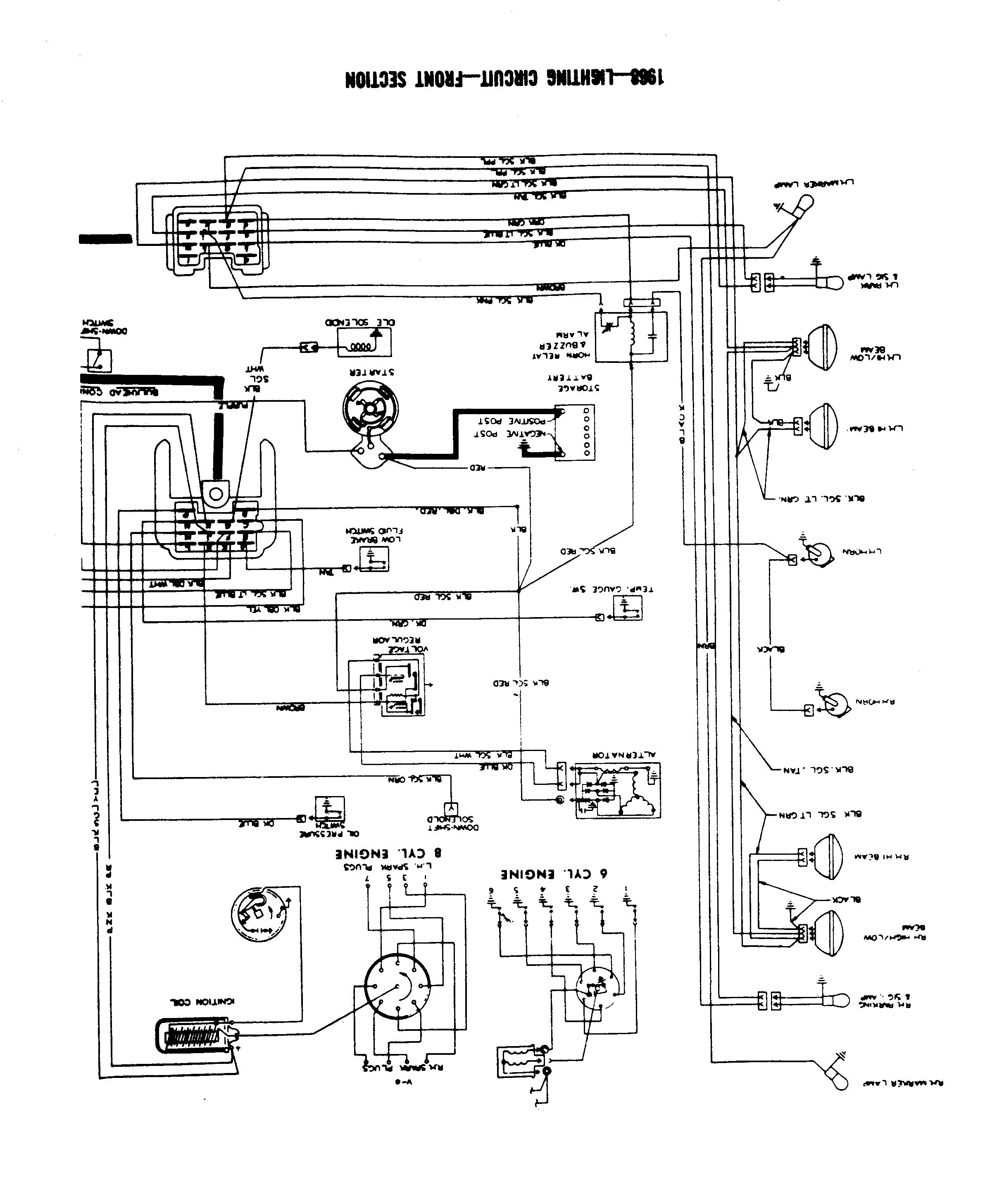 arctic cat cougar wiring schematic 1966 gto wiring harness gto wiring diagram scans page 2 pontiac gto forum click image for