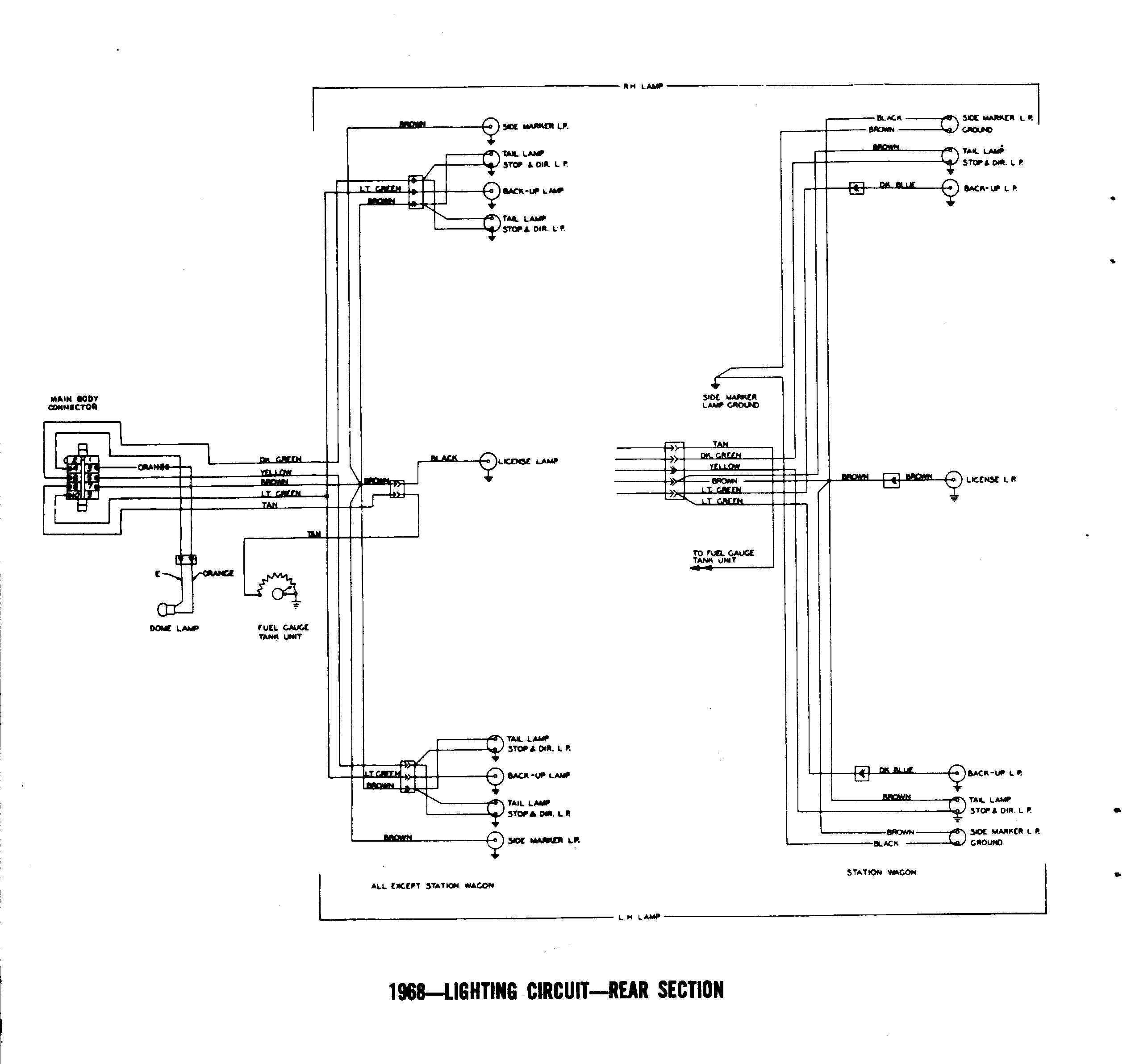 68 Gto Wiring Diagram Light