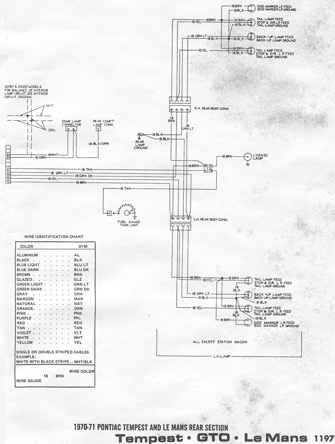70 Pontiac Wiring Diagram