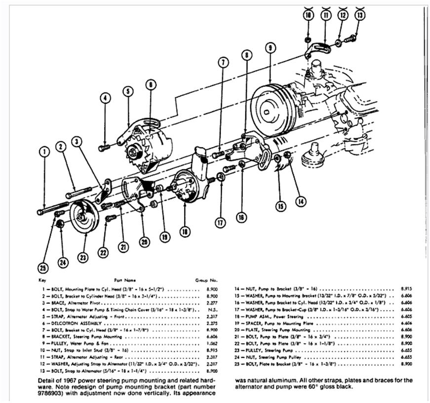 1967 nova power steering box within gm 525 manual steering