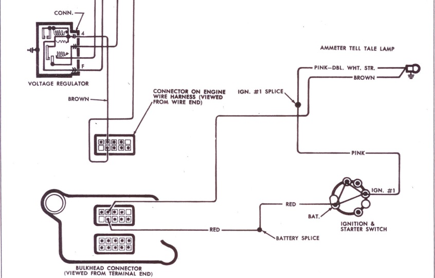 1970 pontiac gto voltage regulator wiring