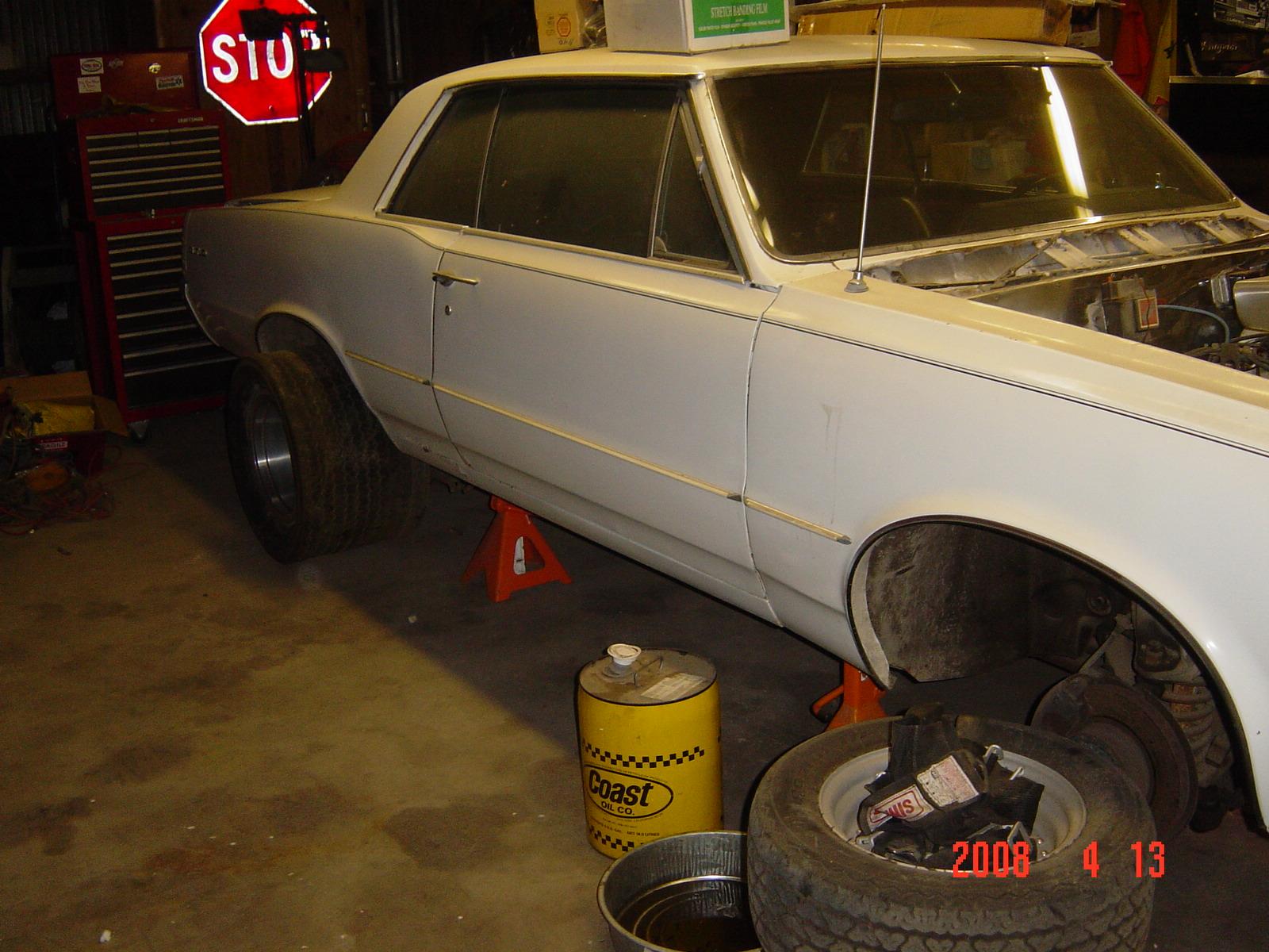GTO barn find - Pontiac