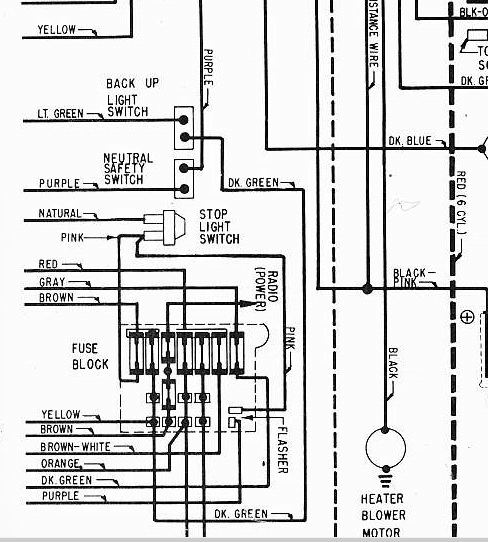 67 Gto Engine Wiring Diagram