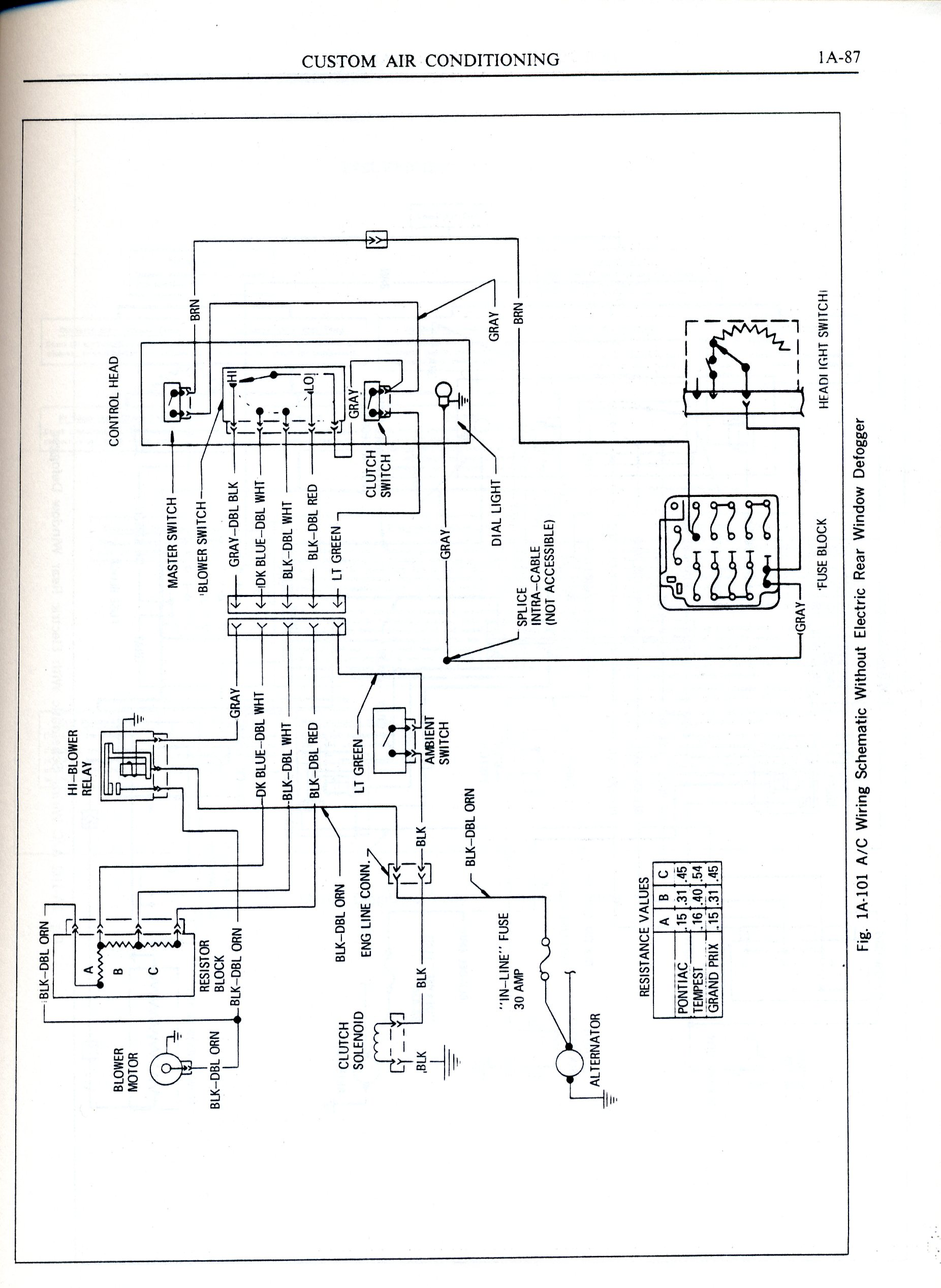 1970 lemans wiring diagram pontiac gto forum click image for larger version 001 jpg views 23893 size 433 8