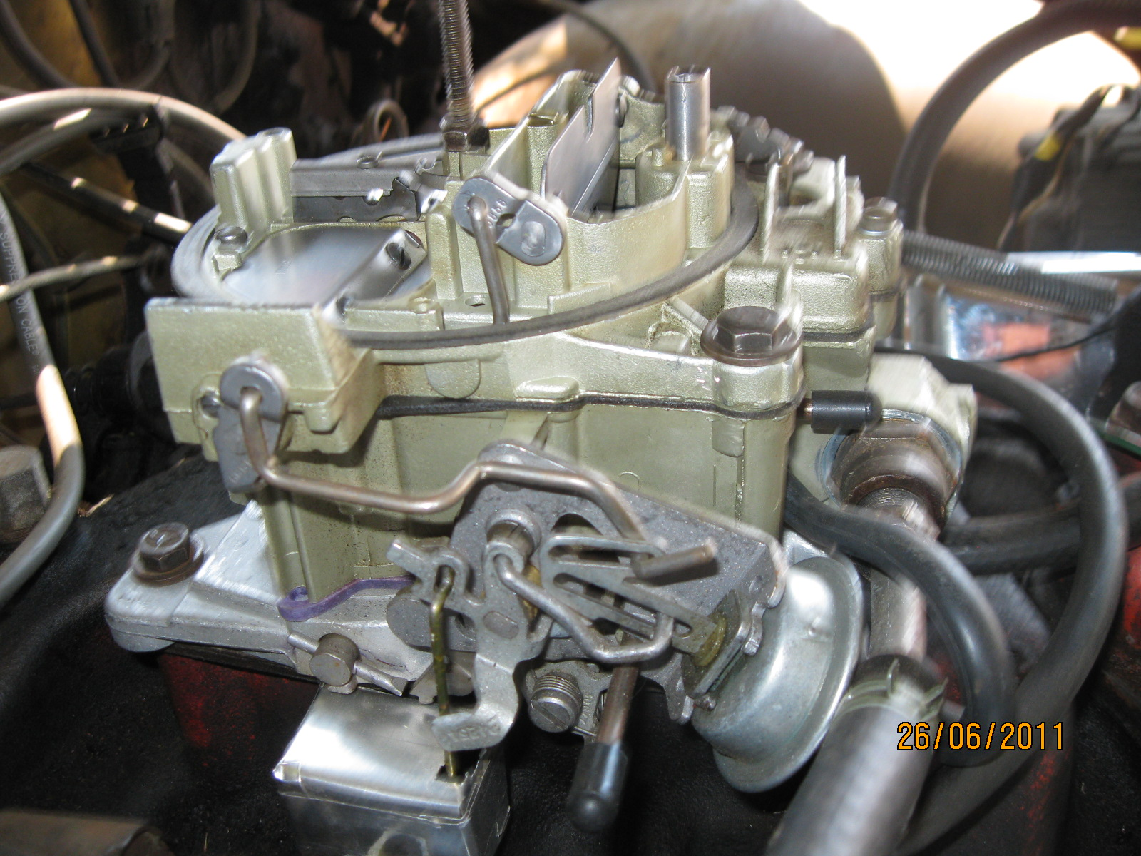 in need of a divorced choke and linkage - Pontiac GTO Forum