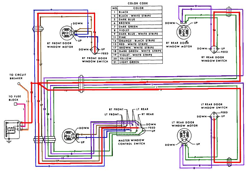 67 power window questions pontiac gto forum click image for larger version schematic 67 hdtp color jpg views 9847
