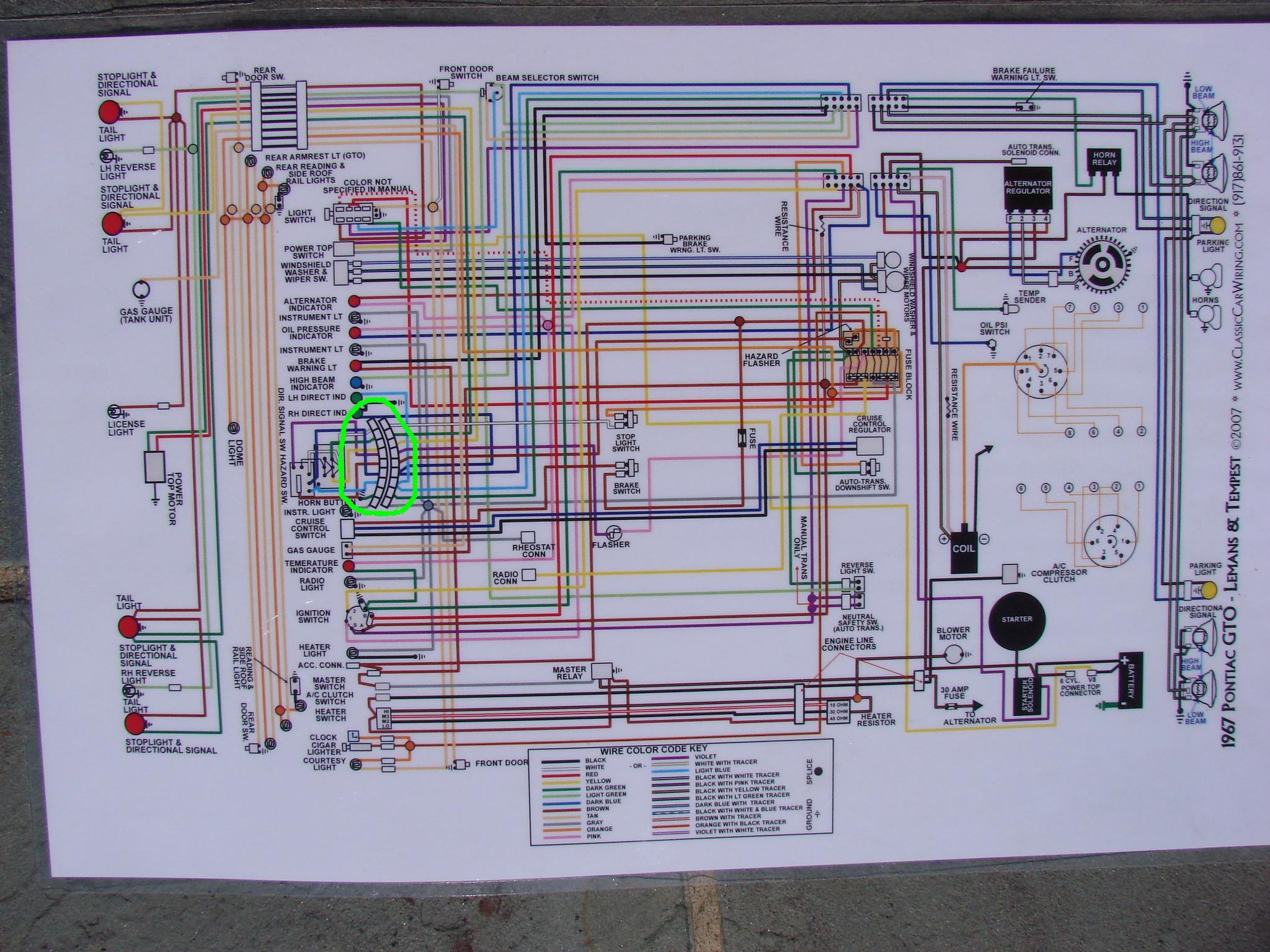 1964 Gto Wiring Harness Library 64 El Camino Diagram Click Image For Larger Version Name Steering Column