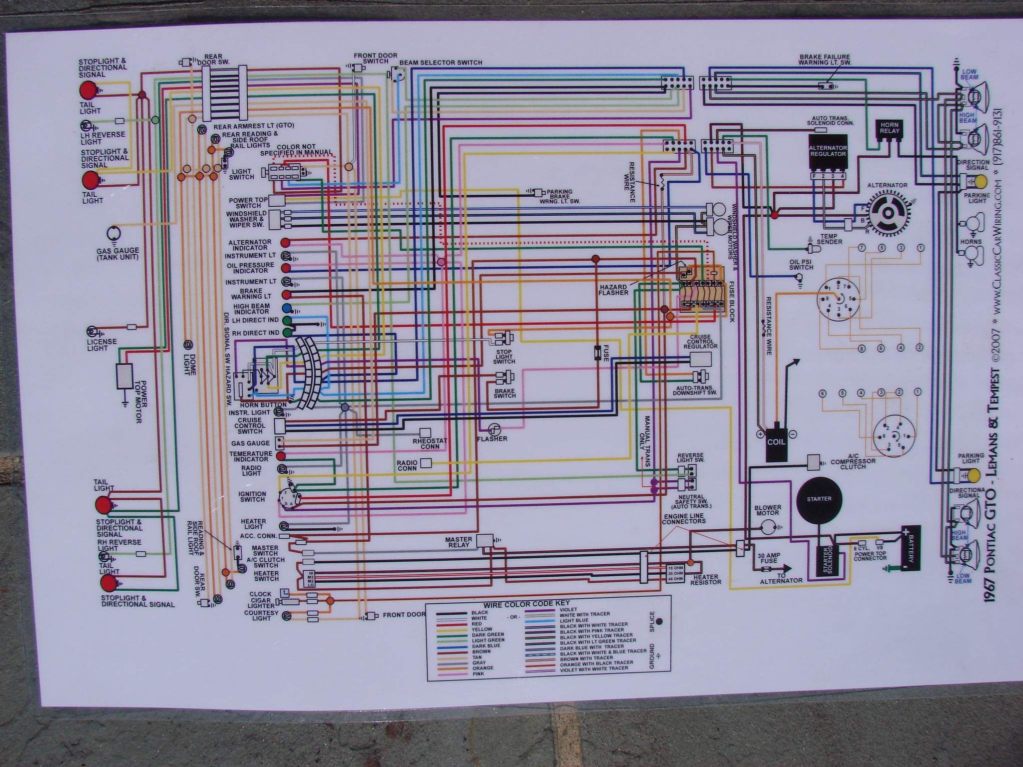 67 Camaro Wiring Diagram Ignition Hot Rod Forum Taco Sr502 4 Firebird Headlight Solidfonts Collection 1967 Starter Pictures Wire