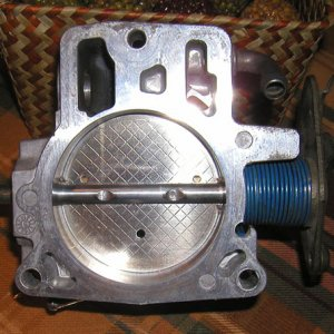 Shaner Throttle Body - Back