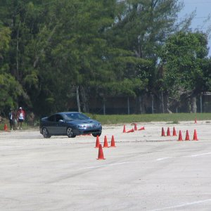 Autocrossing the Goat