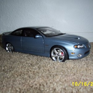GMP 2006 Cyclone Gray Metallic Diecast