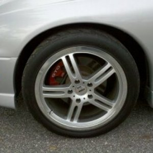 2006 GTO - TSW Indy 500 Wheels