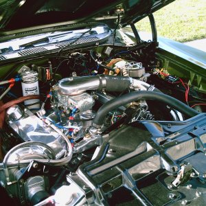 supercharged 68 Pontiac 400